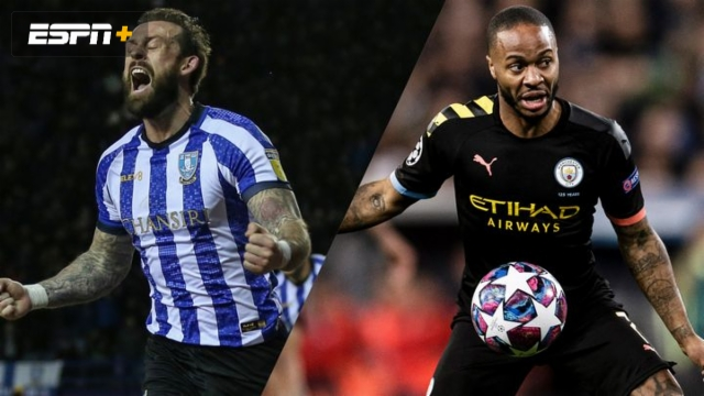 In Spanish-Sheffield Wednesday vs. Manchester City (5th Round) (FA Cup)
