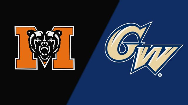 Mercer vs. George Washington (W Basketball)