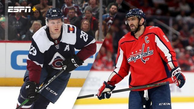 Colorado Avalanche vs. Washington Capitals