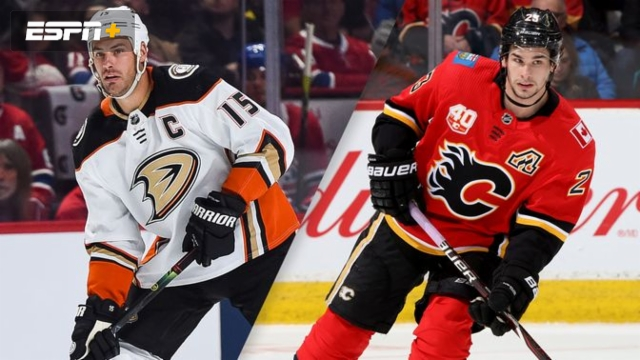 Anaheim Ducks vs. Calgary Flames