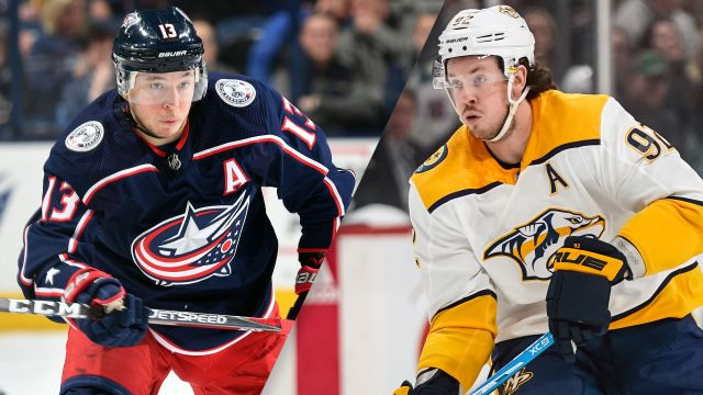 Columbus Blue Jackets vs. Nashville Predators