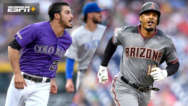 Colorado Rockies vs. Arizona Diamondbacks