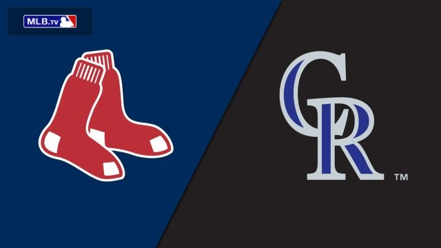 Boston Red Sox vs. Colorado Rockies