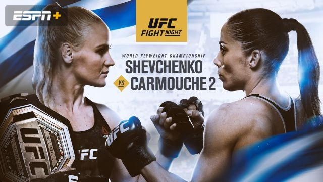 In Spanish - UFC Fight Night: Shevchenko vs. Carmouche 2