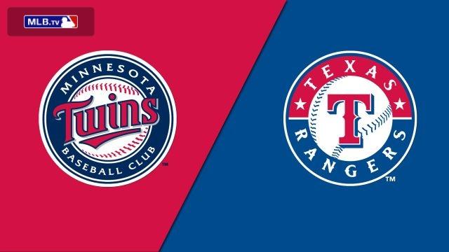 Minnesota Twins vs. Texas Rangers