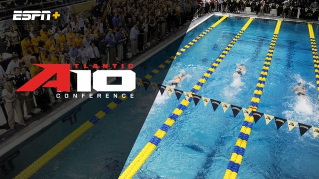 A-10 Men's and Women's Swimming and Diving Championships (Day Four Prelims)