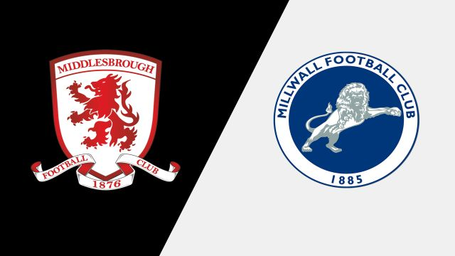 Middlesbrough vs. Millwall (English League Championship)