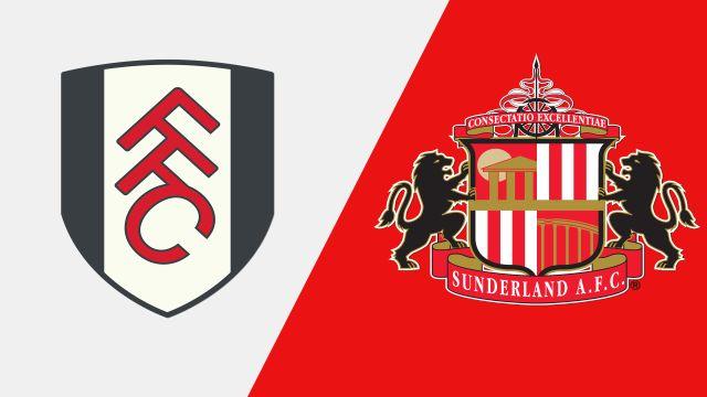 Fulham vs. Sunderland (English League Championship)