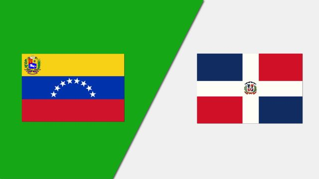 Venezuela vs. Dominican Republic (FIBA World Cup Qualifier)