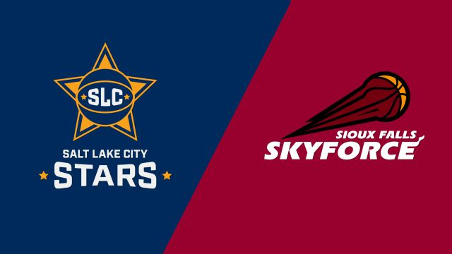 Salt Lake City Stars vs. Sioux Falls Skyforce
