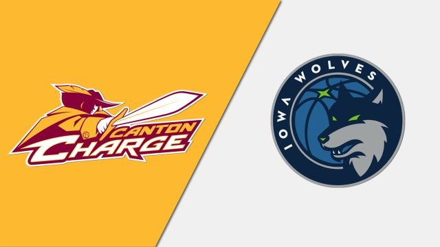 Canton Charge vs. Iowa Wolves