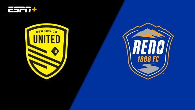 New Mexico United vs. Reno 1868 FC (USL Championship)