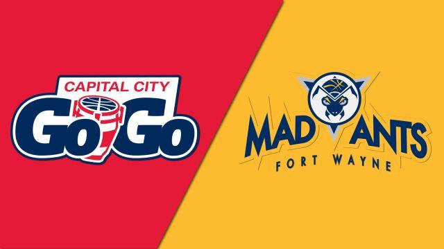 Capital City Go-Go vs. Fort Wayne Mad Ants