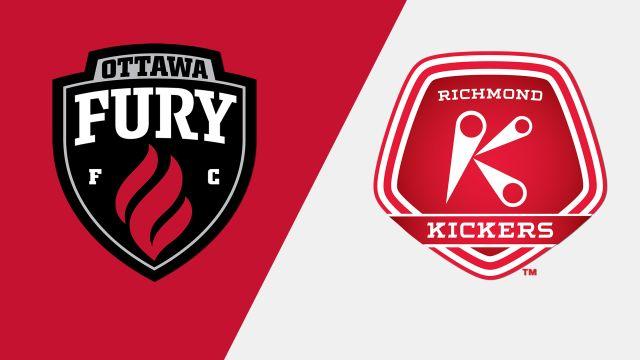 Ottawa Fury FC vs. Richmond Kickers