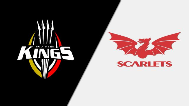 Southern Kings vs. Scarlets (Guinness PRO14 Rugby)