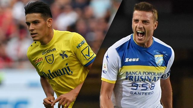 Chievo vs. Frosinone (Serie A)