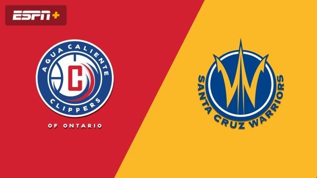 Agua Caliente Clippers vs. Santa Cruz Warriors