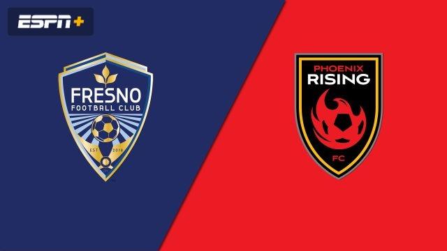 Fresno FC vs. Phoenix Rising FC (USL Championship)