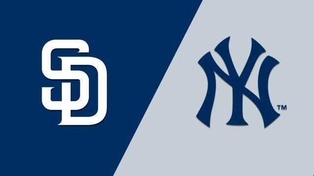 San Diego Padres vs. New York Yankees