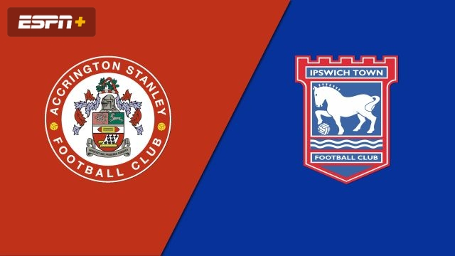 Accrington Stanley vs. Ipswich Town (English League One)