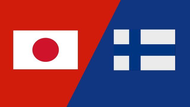 Japan vs. Finland (2018 FIL World Lacrosse Championships)