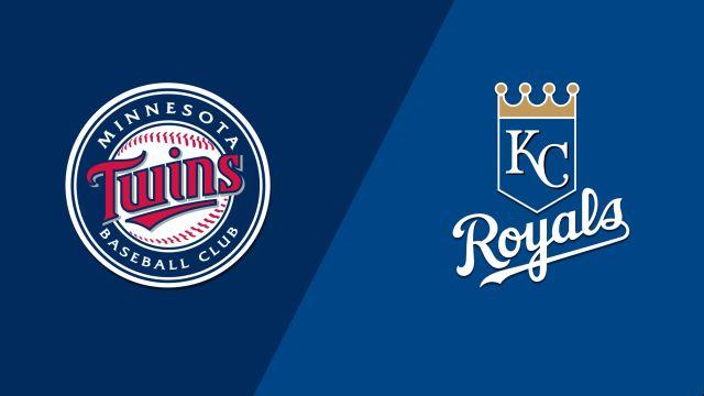 Minnesota Twins vs. Kansas City Royals