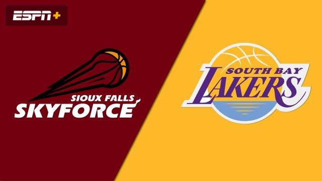 Sioux Falls Skyforce vs. South Bay Lakers