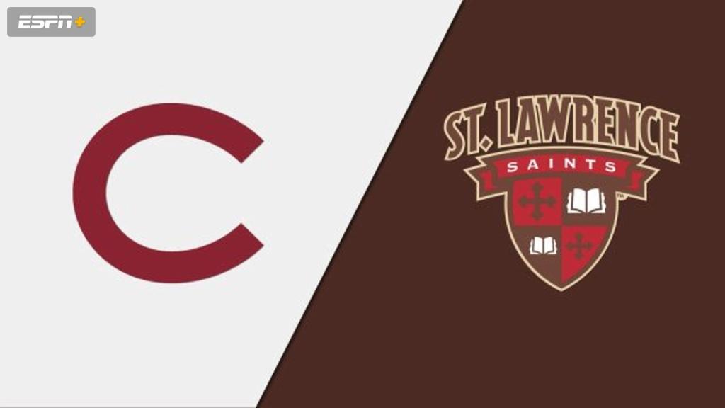 Colgate vs. St. Lawrence (W Hockey)