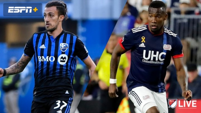 In Spanish-Montreal Impact vs. New England Revolution (MLS)