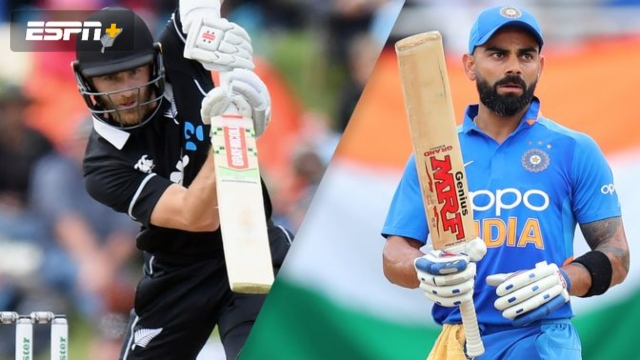 New Zealand vs. India (1st ODI)