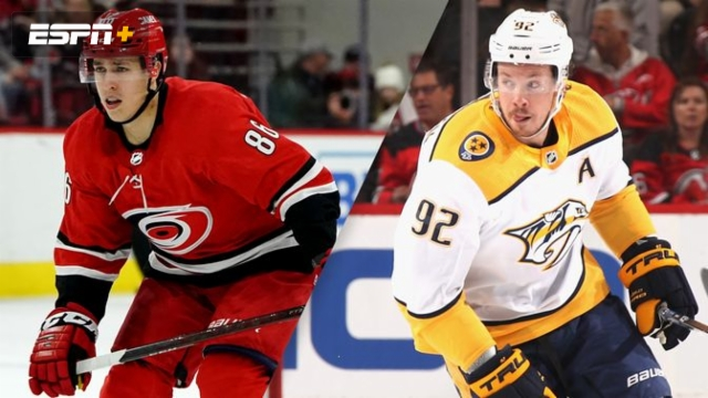 Carolina Hurricanes vs. Nashville Predators