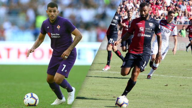 Fiorentina vs. Cagliari (Serie A)