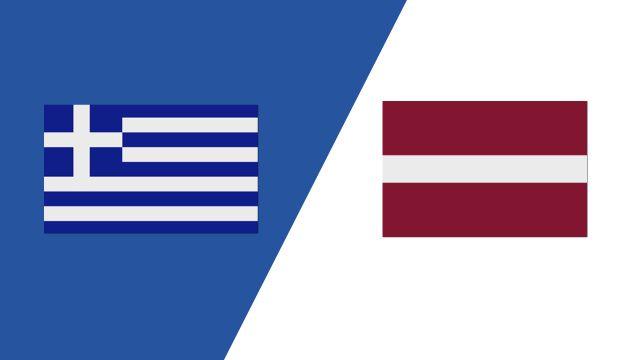Greece vs. Latvia (2018 FIL World Lacrosse Championships)