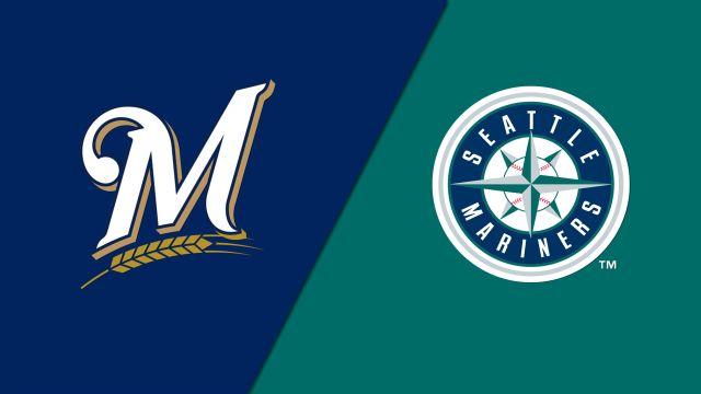 Milwaukee Brewers vs. Seattle Mariners