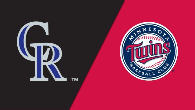 Colorado Rockies vs. Minnesota Twins