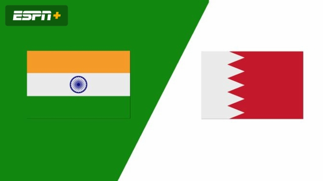 India vs. Bahrain