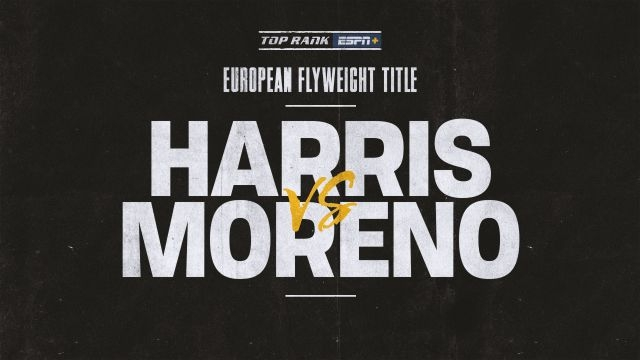 Harris vs. Moreno Main Event