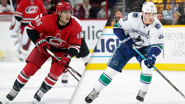 Carolina Hurricanes vs. Vancouver Canucks