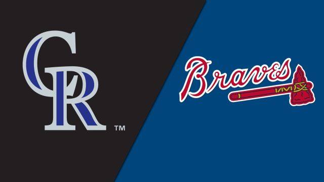 Colorado Rockies vs. Atlanta Braves