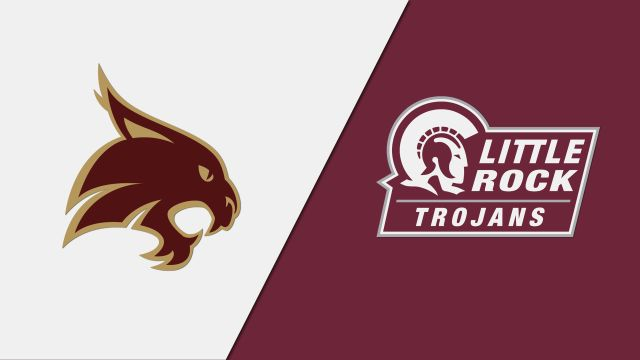 Texas State vs. Little Rock (M Basketball)