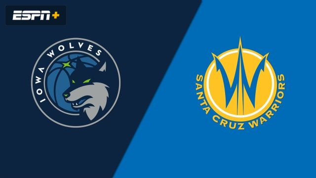 Iowa Wolves vs. Santa Cruz Warriors