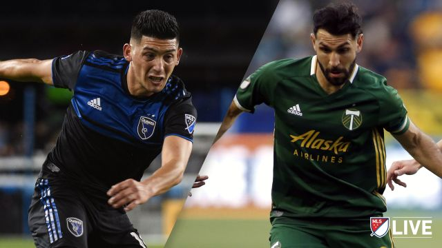 San Jose Earthquakes vs. Portland Timbers