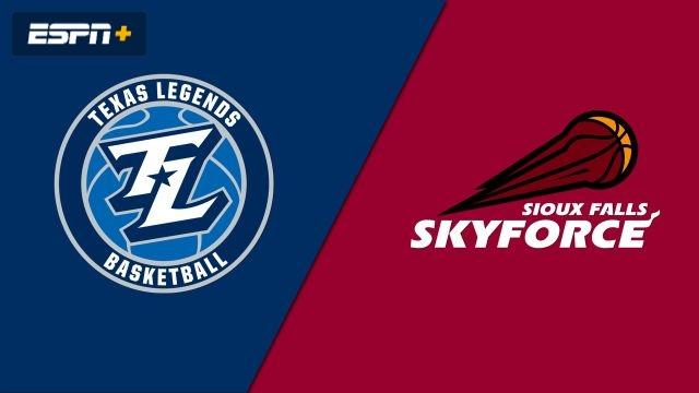Texas Legends vs. Sioux Falls Skyforce
