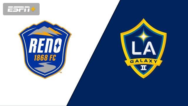 Reno 1868 FC vs. LA Galaxy II (USL Championship)