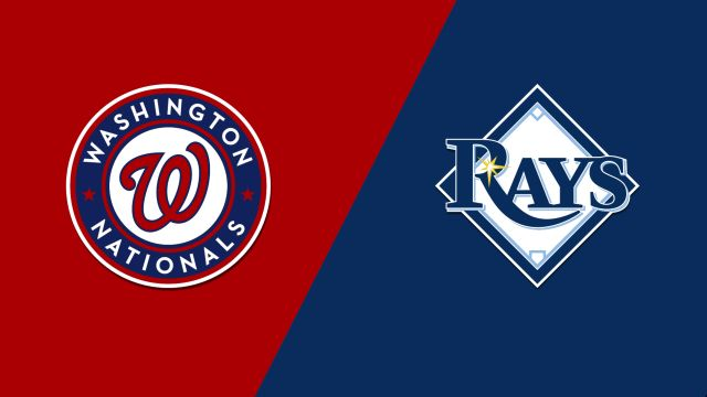 Washington Nationals vs. Tampa Bay Rays