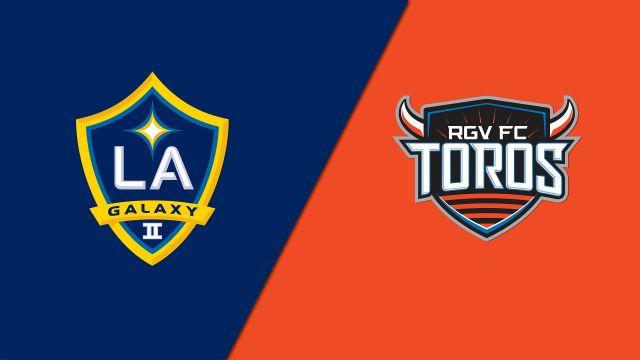 LA Galaxy II vs. Rio Grande Valley FC Toros (USL Championship)