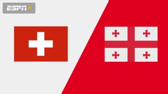 Switzerland vs. Georgia