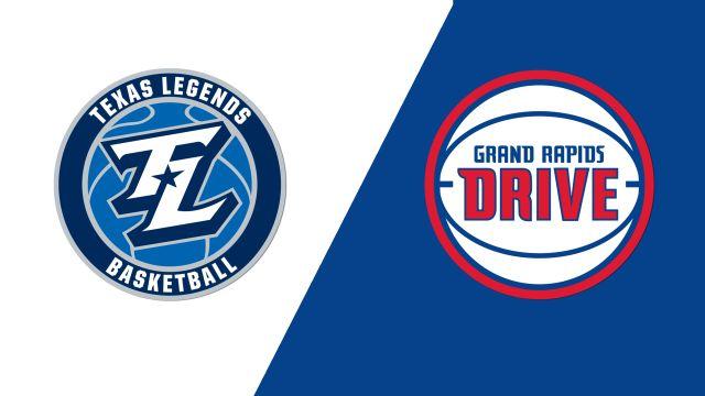 Texas Legends vs. Grand Rapids Drive