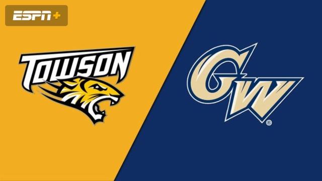 Towson vs. George Washington (Softball)