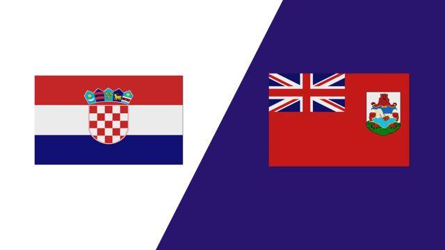 Croatia vs. Bermuda (2018 FIL World Lacrosse Championships)